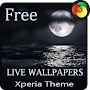 sea in the dark Xperia Theme, Live Wallpapers FREE APK icon