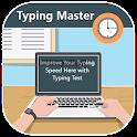 Typing Master 2018 - English Typing Speed Test icon
