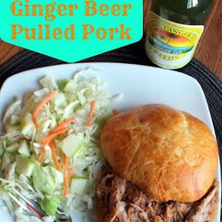 Crockpot Ginger Ale Pulled Pork.