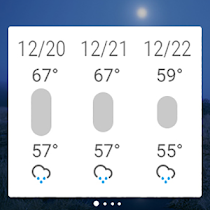 GO Weather Forecast & Widgets - screenshot thumbnail 10