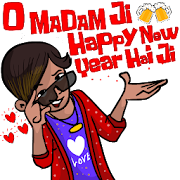 Happy New Stickers 2019 For WAStickerApps