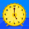 Telling Time Games For Kids - Learn To Tell Time icon