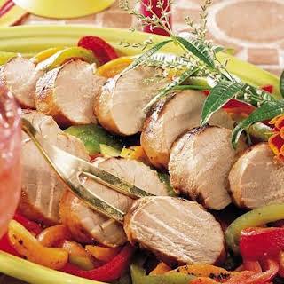 Grilled Pork Tenderloin with Firecracker Marinade.