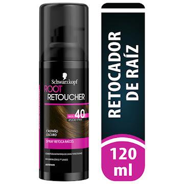 Retoca Raices Root   Retoucher Castaño Oscuro spray x120ml