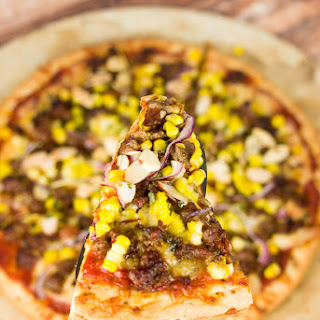 Spicy Sausage, Sweet Corn & Havarti Cheese Pizza