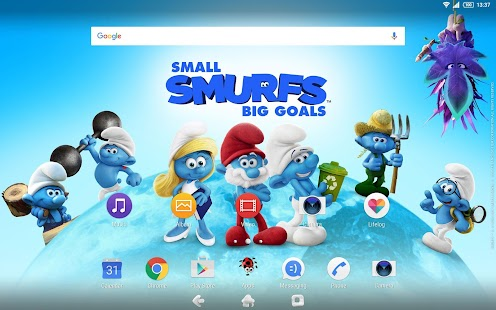 XPERIA™ Team Smurfs™ Theme- screenshot thumbnail