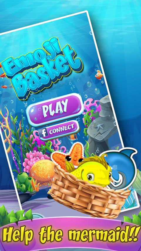 Emoji Basket – Match 3 Puzzle- screenshot
