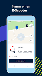 FREE NOW (mytaxi) - Taxi, Scooter, Carsharing Screenshot