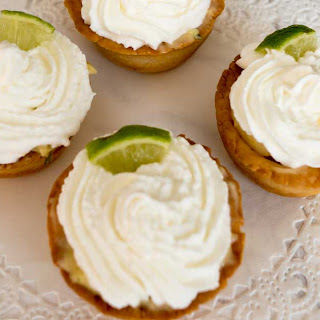 Mexican Key Lime Tartlets.