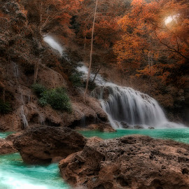 Lapopu Waterfall by Agung Hendramawan - Landscapes Waterscapes ( #sumba, #travelphotography, #travelling, #landscape, #landscapephotography )