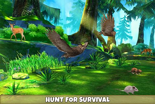 Wild Owl Bird Family Survival apklade screenshots 2