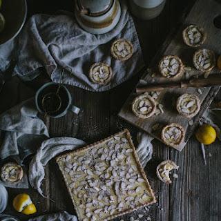 Torta Della Nonna Italian Custard Tart.