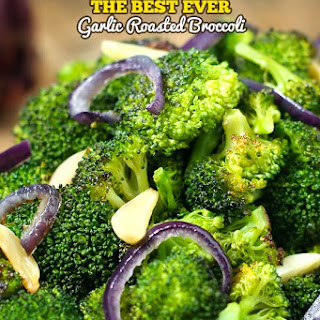 The Best Ever Garlic Roasted Broccoli