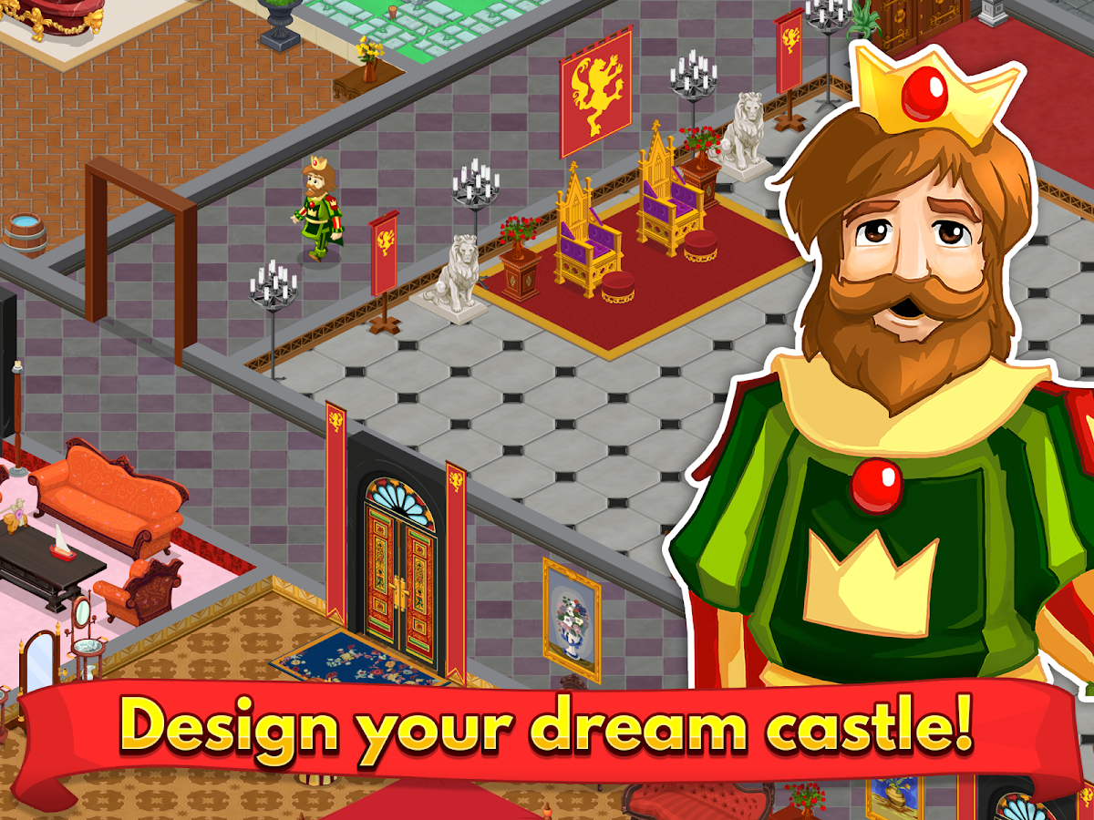 Design This Home Game design this castle screenshot Design This Castle Screenshot