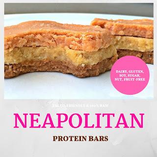 NEAPOLITAN Protein Bars.