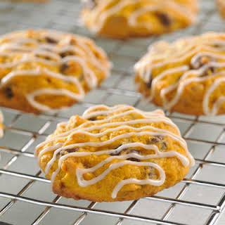 Pumpkin Spiced and Iced Cookies.