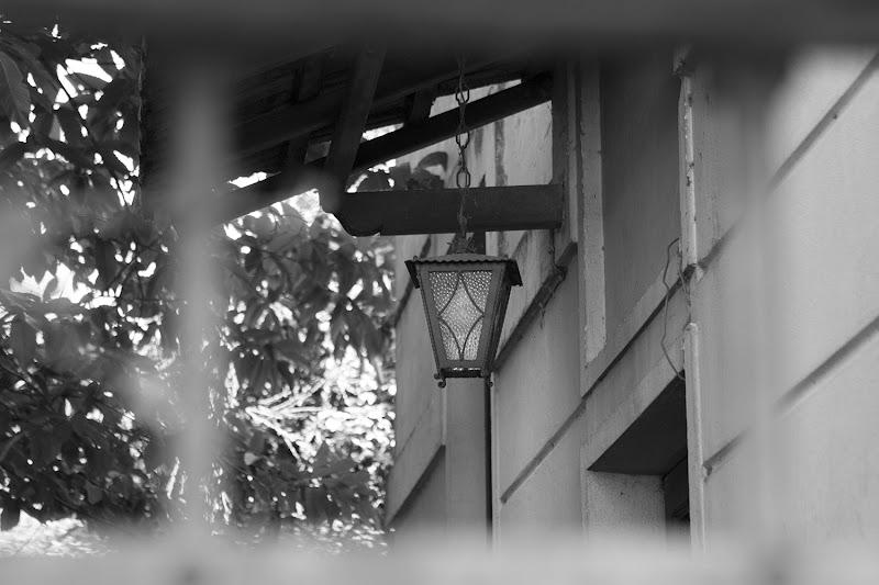 L'antica Lampada esterna di illuminazione di Eagle