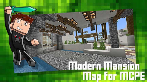 Modern Mansion Map for MCPE App Report on Mobile Action