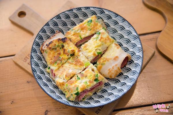 銅板價早餐美食!多種口味創意古早味粉漿蛋餅