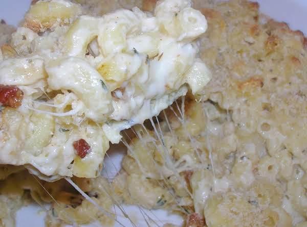 Macaroni & Cheese & Cheese & Cheese & Pancetta