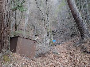古い放置水槽