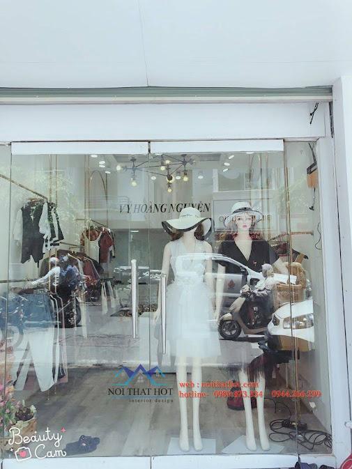 thiết kế shop thời trang nữ bạch mai 9