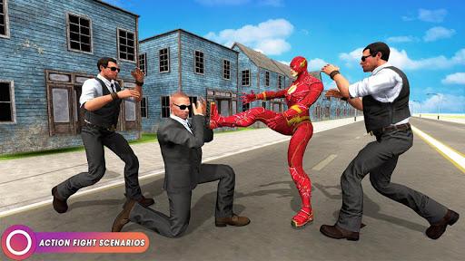 Speed Flash Superhero Fighting City Rescue 1.1.1 screenshots 4