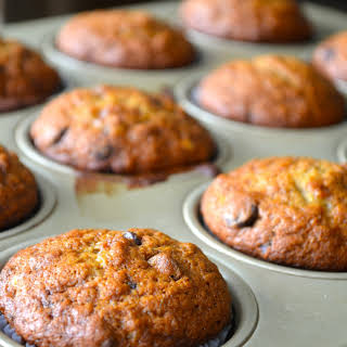 Banana Chocolate-Chip Muffins.