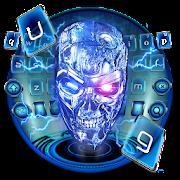 Electric Lightning Skull Keyboard