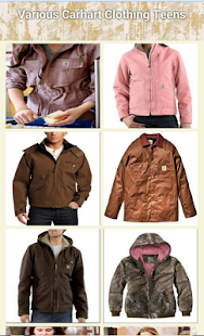 Various Carhart Clothing Teens - náhled