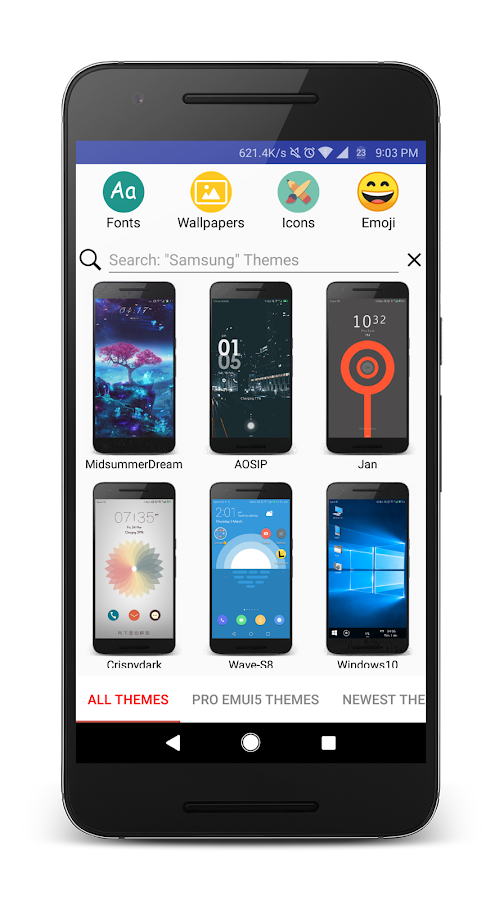 Themes Manager For HUAWEI EMUI- screenshot