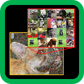 Let's Mosaic -- Easy Photomosaic making tool  --