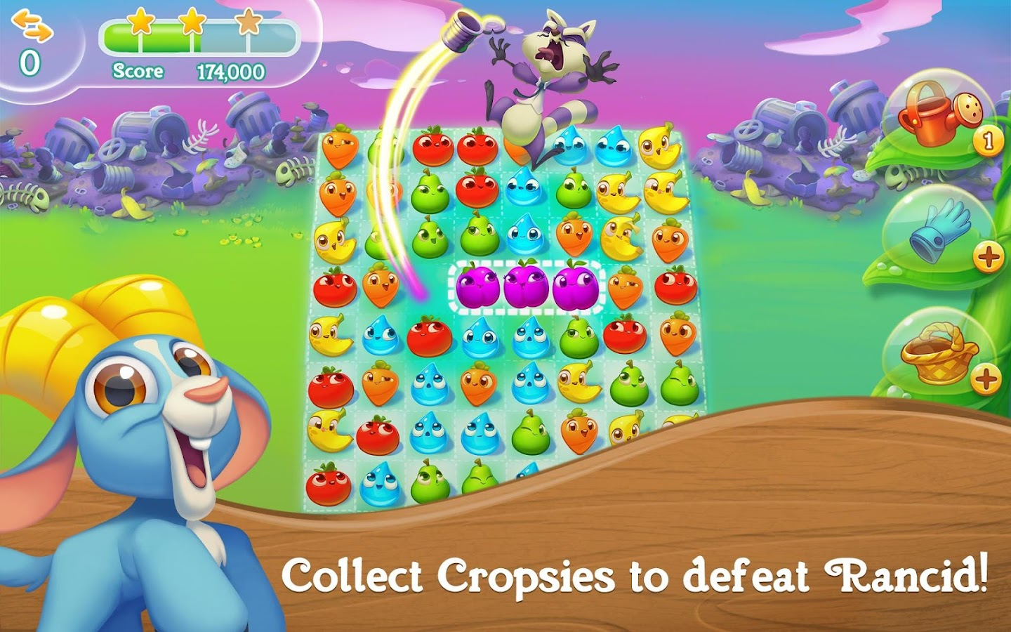Farm Heroes Super Saga- screenshot