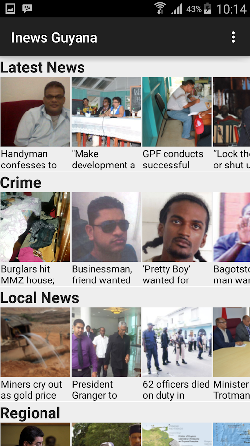 Inews Guyana- screenshot