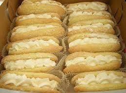 Lemon-filled Ladyfinger Sandwiches Recipe