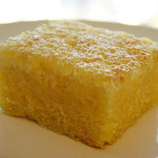 Cornmeal Cake (Bolo de Fubá).