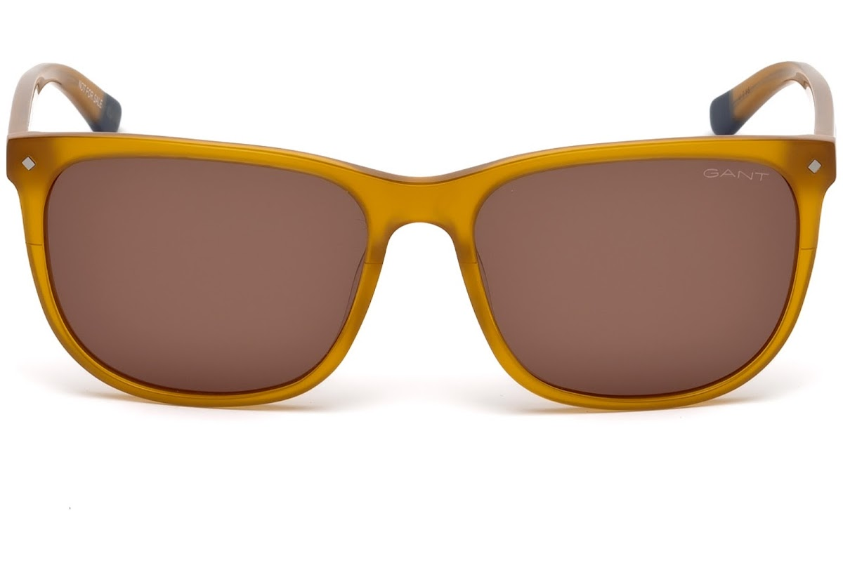 41ccdd343de Buy Gant GA7093 C57 47E (light brown other   brown) Sunglasses ...