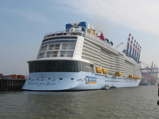 quantum-of-the-seas-bremerhaven-germany.jpg - An aft view of Quantum of the Seas in in Bremerhaven, Germany.