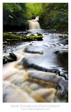 Photo: #WaterfallWednesday  West Burton Waterfall  Here's another shot of my favourite waterfall at West Burton taken during our Aysgarth workshop recce the other week. We're back on November 12th for the workshop so it should look nicely autumnal by then (unless the wind and rain have removed all the leaves...)  Canon EOS 5D, 24-105mm at 32mm, ISO 50, 4s at f22