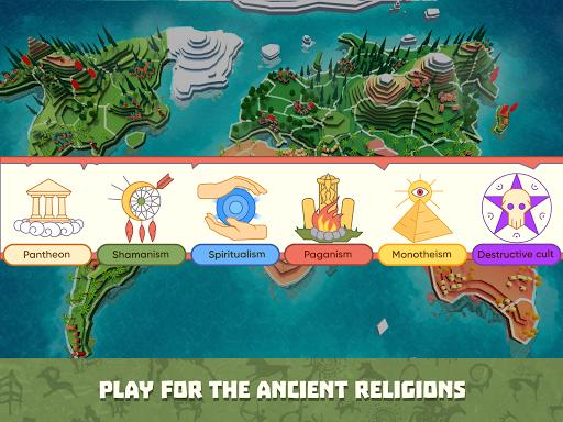 God Simulator. Sandbox strategy game Religion Inc. apkpoly screenshots 8