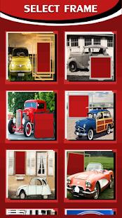 Retro Car Photo Frames - náhled