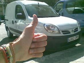 Photo: Cehegin-Madrid-Cehegin en furgoneta. Sobreviven los q mjor se adaptan al medio :)