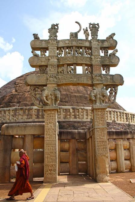 Sanchi, a história e expansão do Budismo gravadas em pedra | Índia