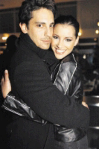 THAT WAS THEN: File picture of former couple Danny K and Lee-Ann Liebenberg. Pic. Dudu Zitha. 23/03/2010. © Sunday Times.