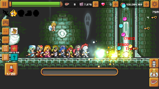 Tap Knight and the Dark Castle- screenshot thumbnail