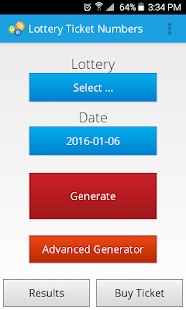 Lottery Ticket Numbers- screenshot thumbnail