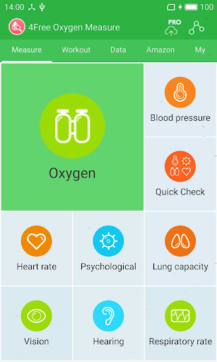Free Oxygen Measurement for PC
