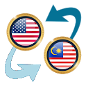 US Dollar to Malaysian Ringgit icon