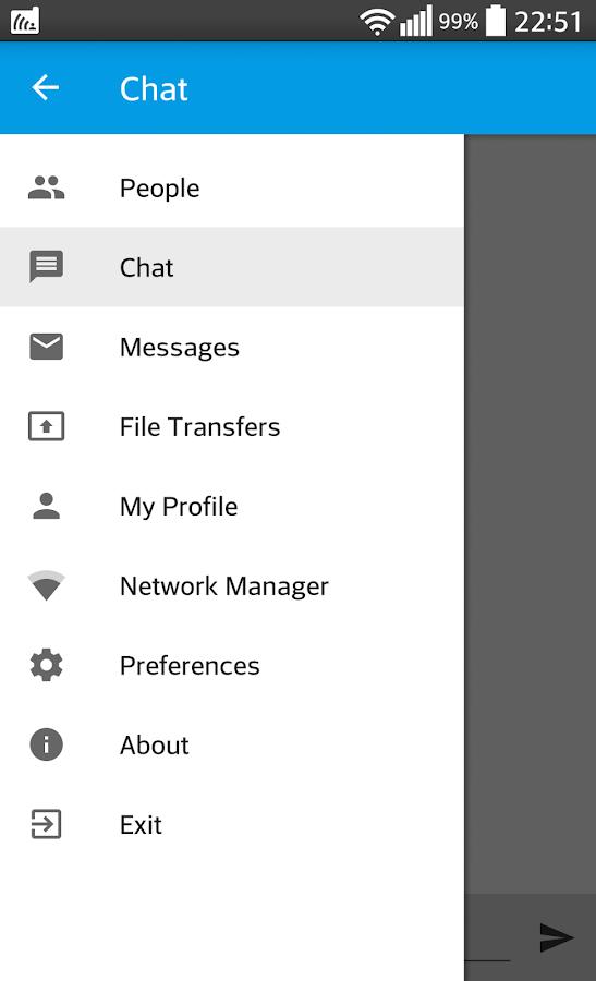 Wi-Fi Talkie FREE- screenshot