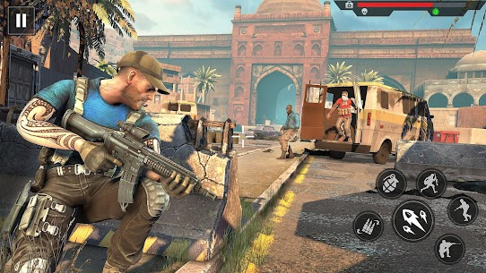 Anti Terrorist Squad Shooting MOD (All Guns Are Unlocked) 1